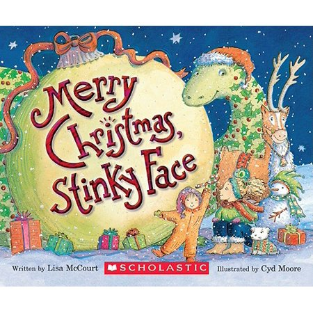 Merry Christmas Stinky Face (Board Book) ()