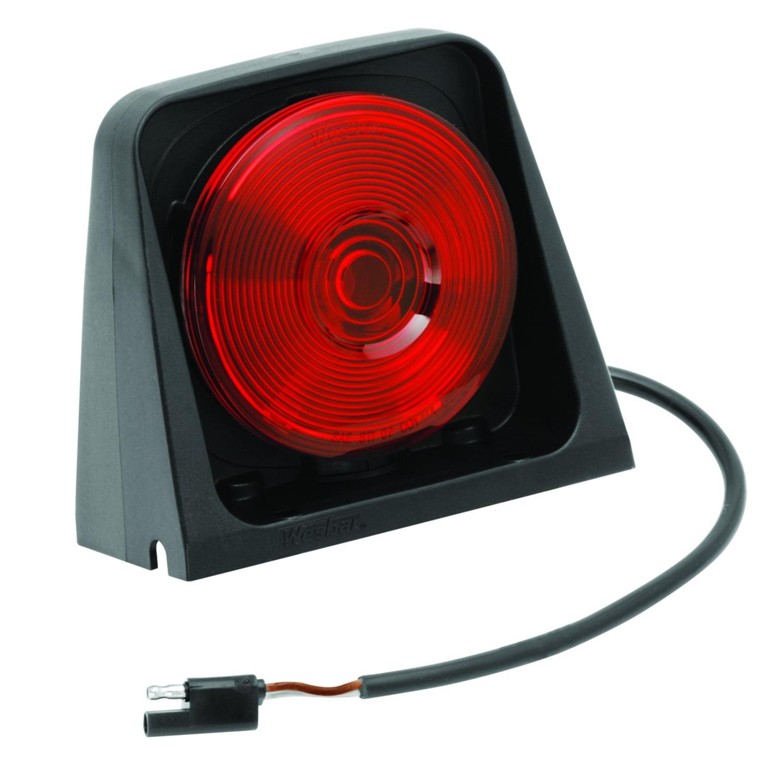 Wesbar 8260501 Ag Light; Single; w/Red/Black; Incl. Molded Tri-Plug;