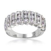 DB Designs  1/4ct TDW Diamond S Design Ring