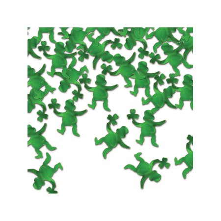 1/2 Oz Package St Patricks Day Celebration Green Leprechaun Confetti Decorations](Leprechaun Decorations)