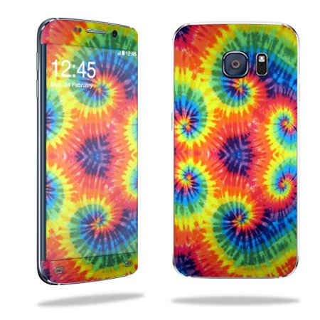 MightySkins Protective Vinyl Skin Decal for Samsung Galaxy S6 Edge wrap cover sticker skins Tie Dye 2