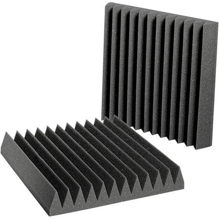 Auralex Acoustics - Studiofoam Wedgies Acoustic Panels - Pack of 24