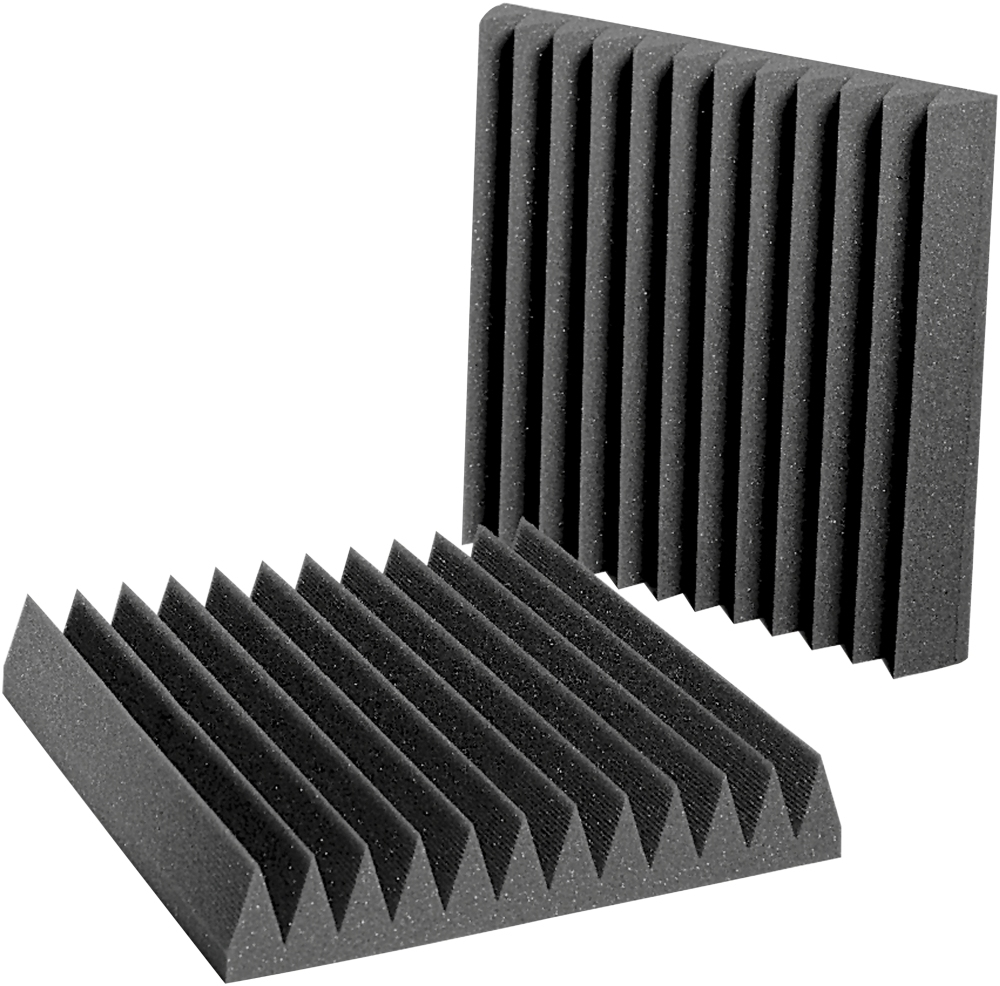 Auralex Acoustics - Studiofoam Wedgies Acoustic Panels - Pack of 24