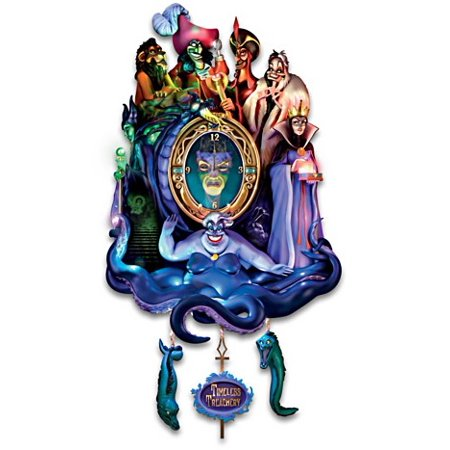 Disney Classic Villains Timeless Treachery Cuckoo Clock Bradford (Bradford Exchange Bunny)