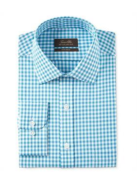 Mens Non-Iron Button Up Dress Shirt