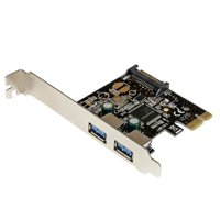 Startech  Add Two Usb 3.0 Ports To Your Desktop Computer Through A Pci Express Slot - Pcie -