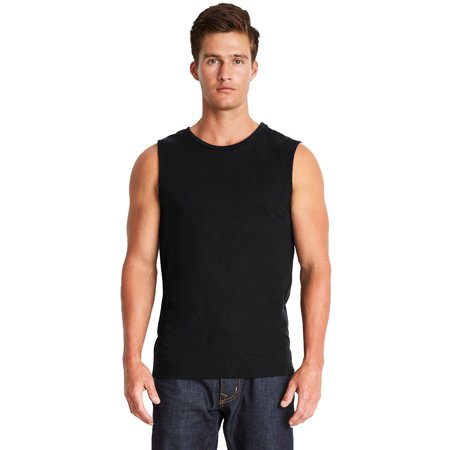 Branded Next Level Mens Muscle Tank Top - BLACK - L (Instant Saving 5% & more on min 2) Cat Mens Tank Top