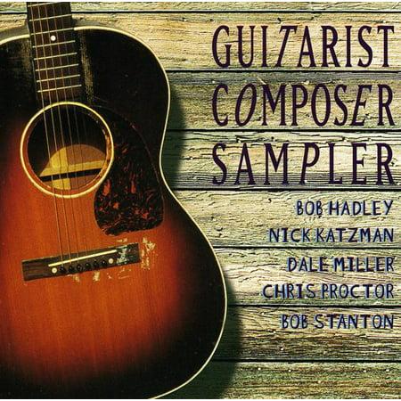 Guitarist Composer Sampler   Various