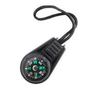 Mini Pocket Compass Navigator for Camping Caving Hiking Hiker with Sling/Lanyard