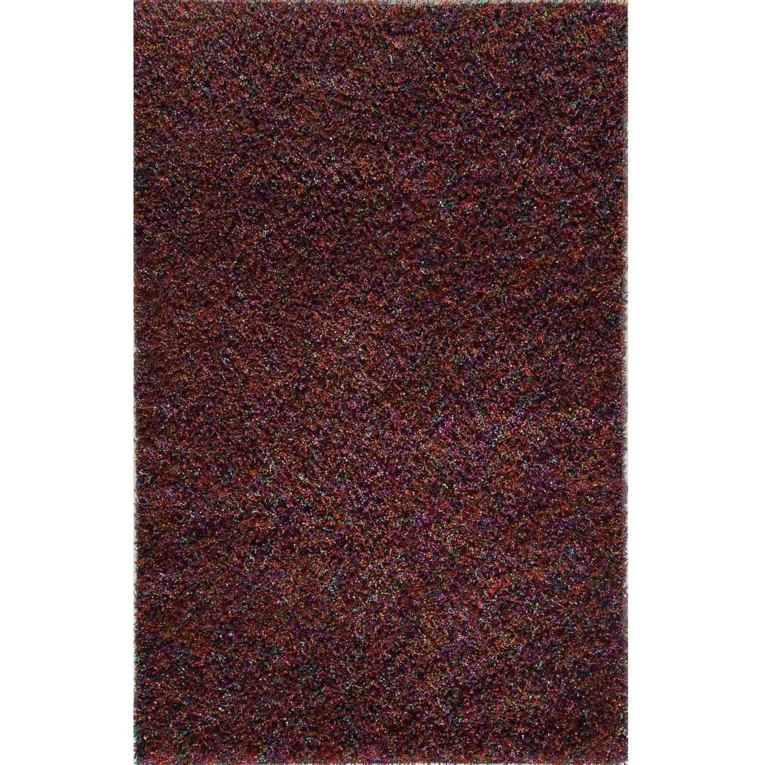 Rugs America Cambria Shag Polyester Rug, Red
