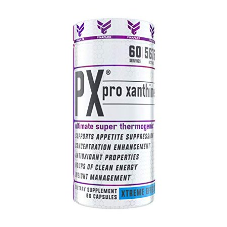PX PRO XANTHINE, Elite Product, Pro Results (oxy), Weight Loss Support, Appetite Suppressant, Concentration Enhancement, Hours of Energy, 60 - Enhancement 60 Capsules