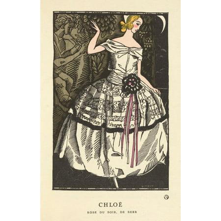 Gazette Du Bon Ton 1921 Chloe Poster Print By  Fernand Simon