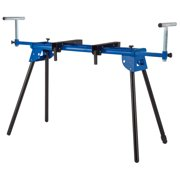 FRONTIER 39.75 inch Folding Miter Saw Stand with extension supports