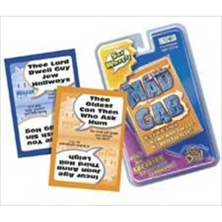 Gm Bible Mad Gab Card Game 2 Or More Players (Mad Gab Game)