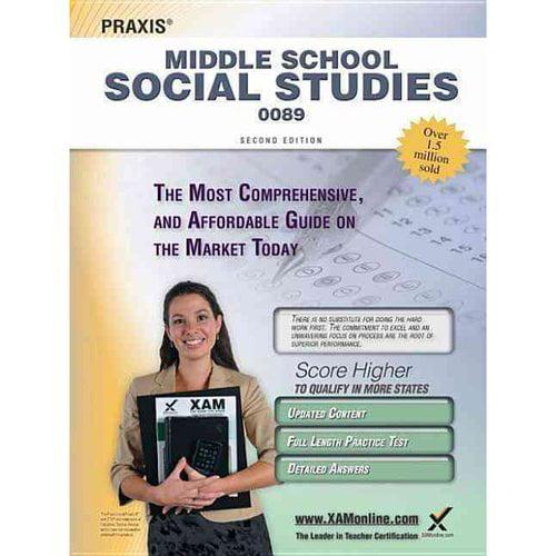 Praxis Middle School Social Studies 0089: Teacher Certification Exam