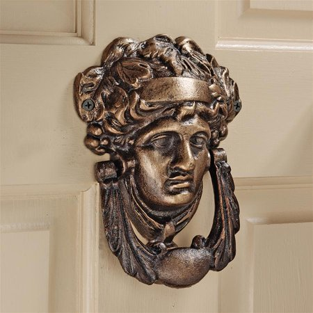 Athena Authentic Foundry Iron Door Knocker