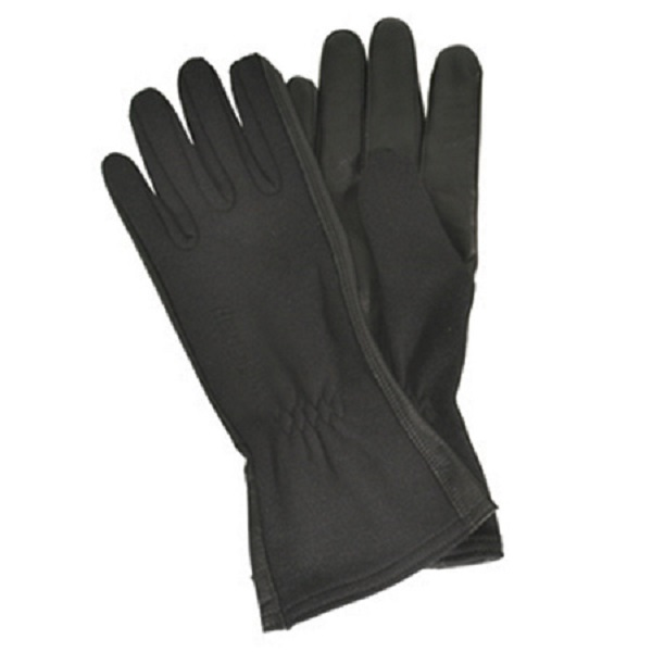 Image of BlackHawk 8001XLBK Black Aviator Fire Resistant Flight Ops Gloves Nomex XL