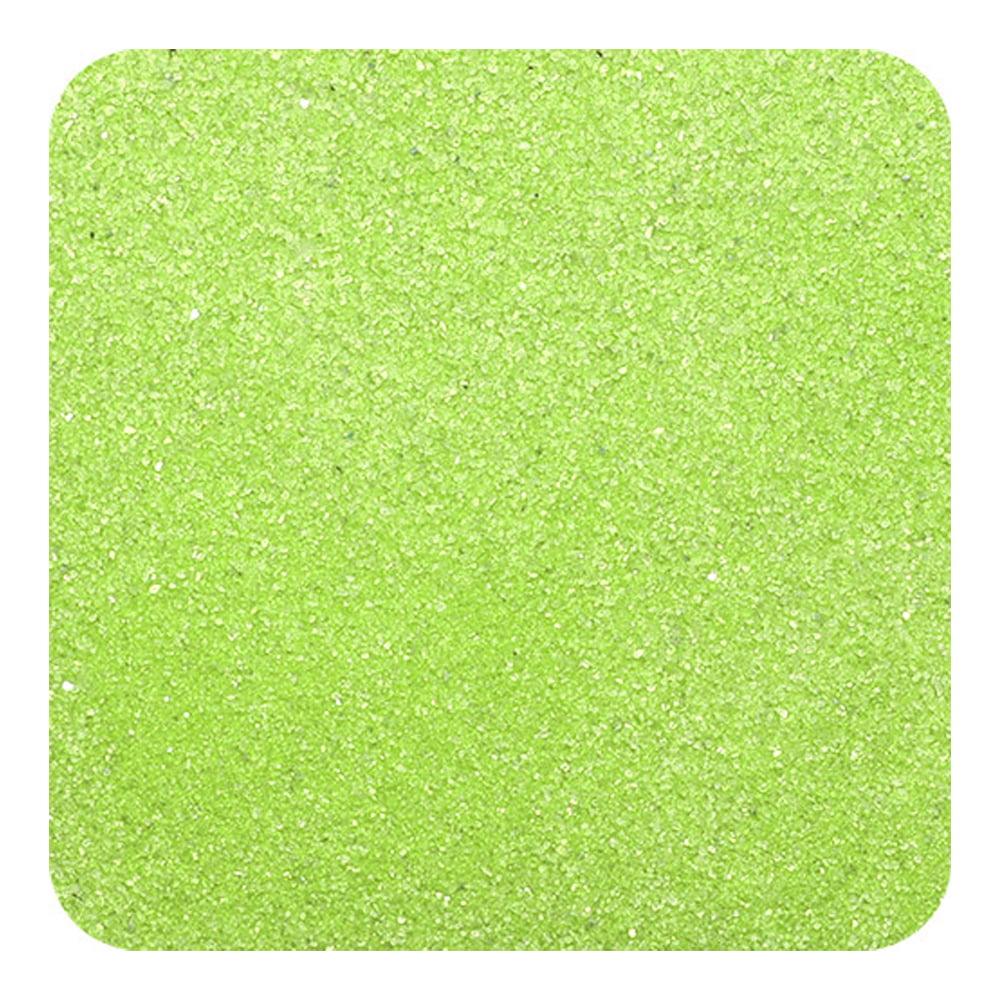 Sandtastik Classic Colored Non-Toxic Play Sand 28 Oz (795 G) Bottle - Shake / Pour Lid - Fluorescent Green