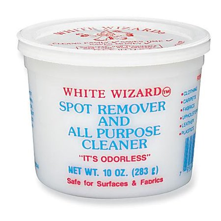 White Wizard Spot Remover and All Purpose Cleaner - 2 X 10 Oz Tubs White Wall Cleaner