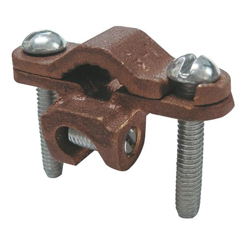 "1/2"" 1"" Ground Clamp With Lay-In Lug, 1-Pack Sigma Electric Conduit 42309"