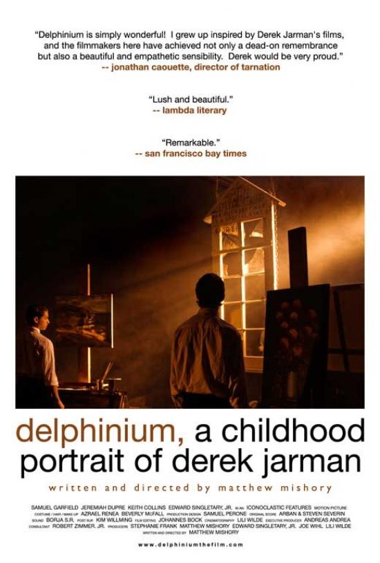 Delphinium A Childhood Portrait of Derek Jarman Movie Poster (11 x 17) by Pop Culture Graphics
