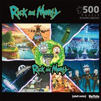 Buffalo Games Entertainment 3367 - Rick & Morty Get Schwifty - 500pc Jigsaw Puzzle
