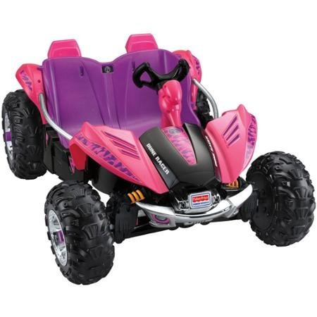 Pink Power 4- Wheels Dune Racer 12-Volt Battery-Powered Ride-On