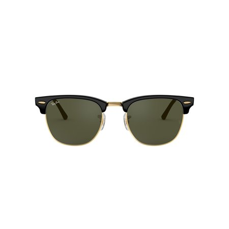 Ray-Ban RB3016 Clubmaster Square Sunglasses (Ray Ban Verkauf)
