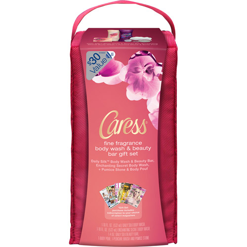 Caress Elixirs Gift Set with Bonus Magazine Subscription and Travel Bag (Value $30)
