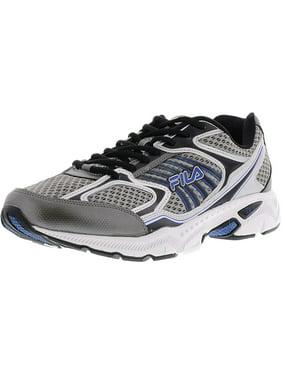 55ea8f8c1de2 Product Image Fila Mens Memory Inspell Running Shoes 1SR20605-057 Dark  Silver Black Prince Blue Size-