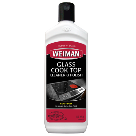Weiman Glass Cooktop Cleaner & Polish - 15 Ounce
