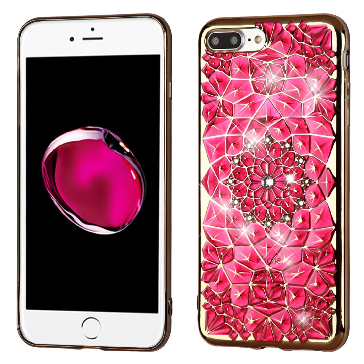 Insten Sunflower TPU Cover Case For Apple iPhone 7 Plus ...