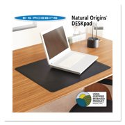 ES Robbins Natural Origins Desk Pad, 38 x 24, Matte, Black -ESR120797