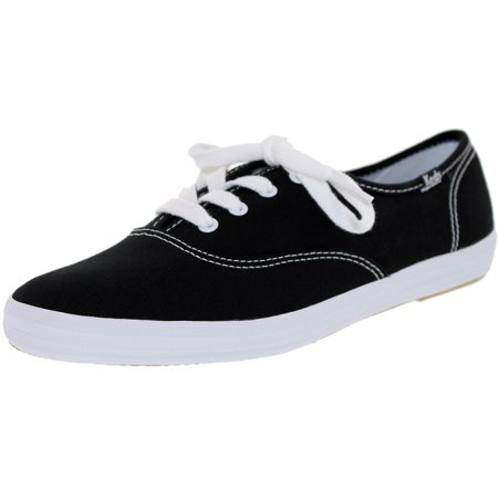 ce2a8e0b87c62 Keds - Keds Women s Champion Originals Black Ankle-High Fabric Flat Shoe -  7M - Walmart.com