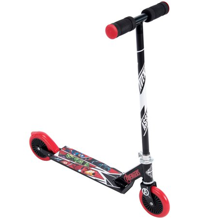 Marvel avengers Inline Folding Kick Scooter for Kids by