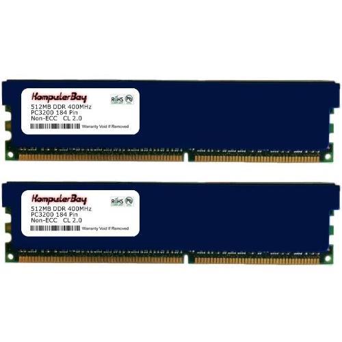 Komputerbay 1GB ( 2 x 512MB ) DDR DIMM (184 pin) 400Mhz P...