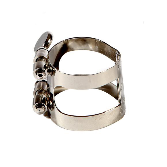 St. Louis Nickel Plated Bb Bass Clarinet Ligature, Bagged