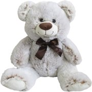 Holiday Time Light Brown 2 Tone Sitting Bear