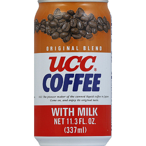 UCC Original Blend Coffee with Milk, 11.3 fl oz, (Pack of 24)