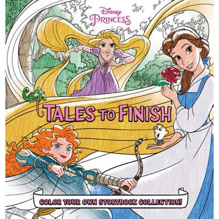 Disney Princess Storybook Collection: Tales to Finish : Color Your Own Storybook (Disney Princess Art And Activity Collection 1000 Pieces)
