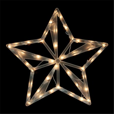 Northlight seasonal 31728769 lighted star christmas window for 18 lighted christmas tree with stars window silhouette decoration
