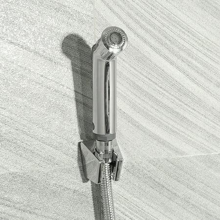 High Quality 2 Function Handheld Bidet Toilet Adapter Shower Sprayer Wall Bracket Holder +120cm Hose Bathroom Home Stainless Steel