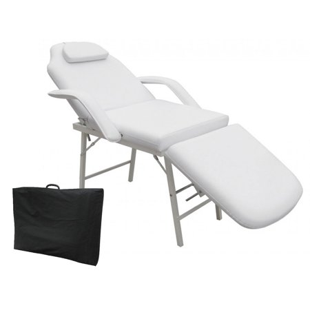 Costway 73'' Portable Tattoo Parlor Spa Salon Facial Bed Beauty Massage Table Chair Portable Massage Chair Reviews