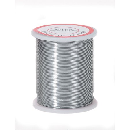 Bead Brass Wire - Silver Beading Wire 28Ga 40Yd