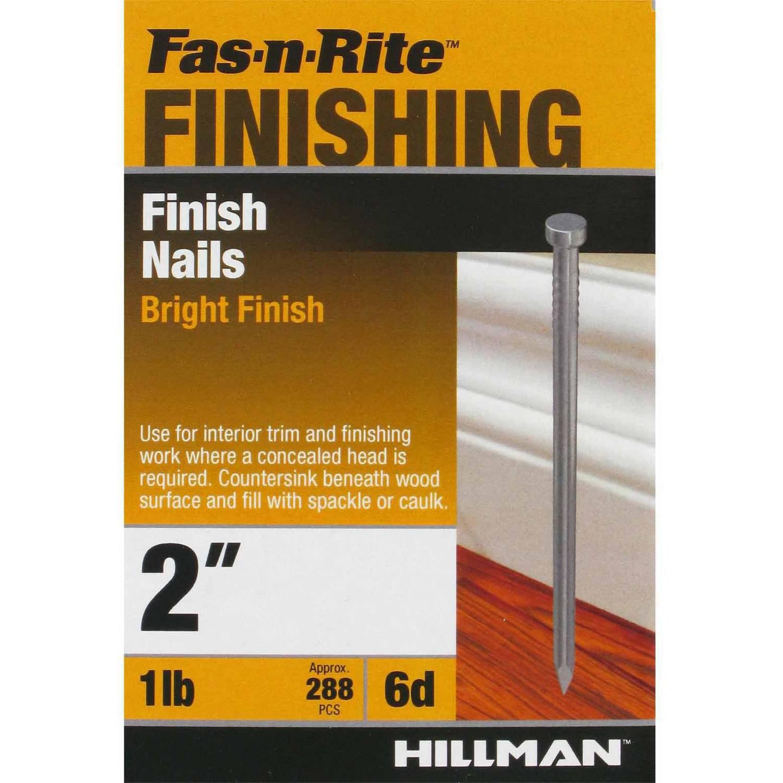 The Hillman Group 6D Finish Nail, 1 lb