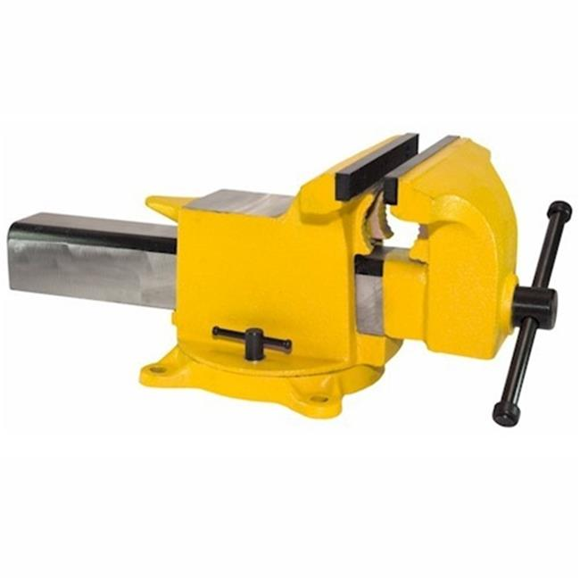 "10"" High Visibility All Steel Utility Combination Pipe and Bench Vise by ProtectionPro"