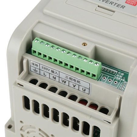 Ejoyous Variable Frequency Drive, Variable Speed Drive,AC 220V 1.5KW Variable Frequency Drive VFD Speed Controller for 3-phase
