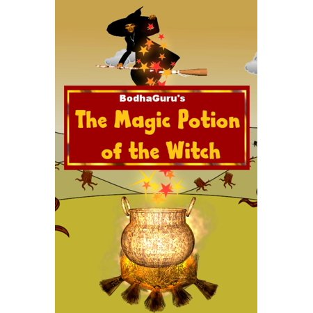 The Magic Potion of the Witch - eBook - Halloween Witch Potion Labels