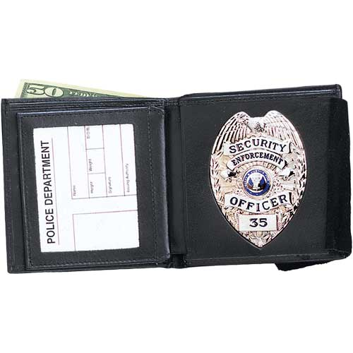 Strong Leather Company 79500-2582 Dbl Id Badge Wallet 258 - 79500-2582 - Strong Leather Company