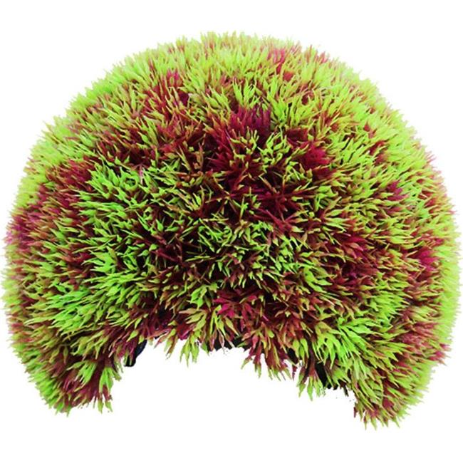 4 in. Moss Cave Hideout Purple & Red